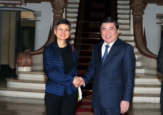 HCM City, Belgium's Antwerp province bolster cooperation hinh anh 1