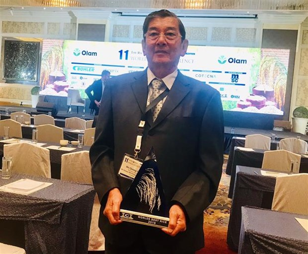 Soc Trang's rice variety recognised as best in world hinh anh 1