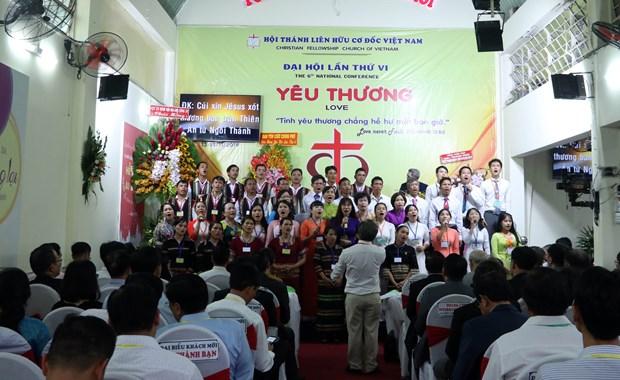 Christian Fellowship Church of Vietnam opens sixth congress hinh anh 1