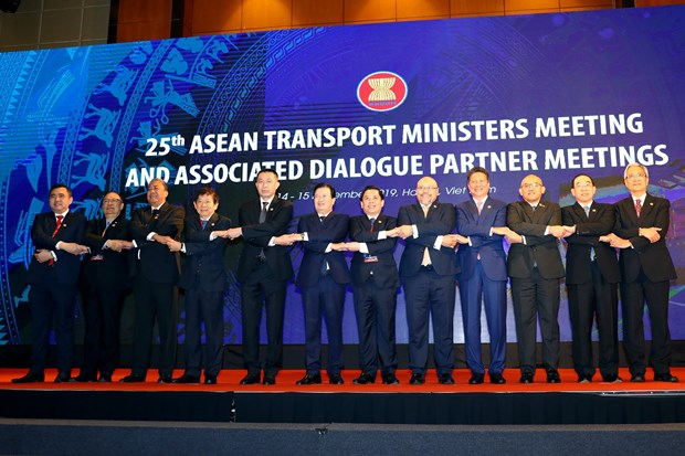 25th ASEAN Transport Ministers' Meeting opens in Hanoi hinh anh 1