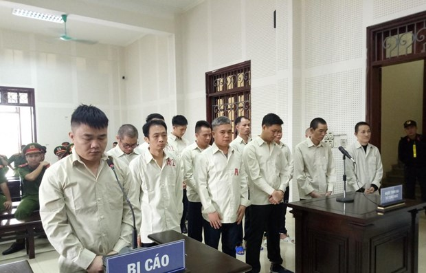 Quang Ninh court hands down death sentence to transnational drug traffickers hinh anh 1