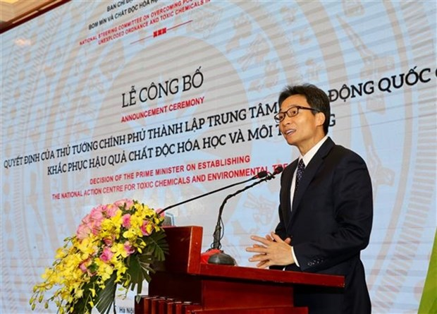 Centre for toxic chemicals and environmental treatment established hinh anh 1