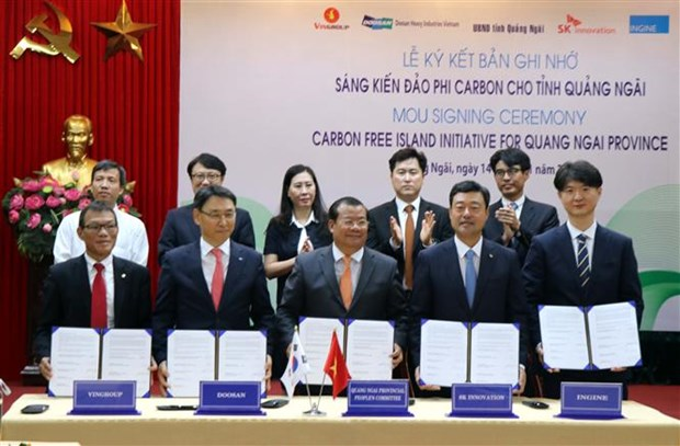 Initiative to help Quang Ngai build carbon-free islands hinh anh 1