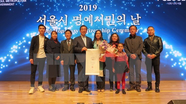 First Vietnamese awarded honorary citizen of Seoul hinh anh 1