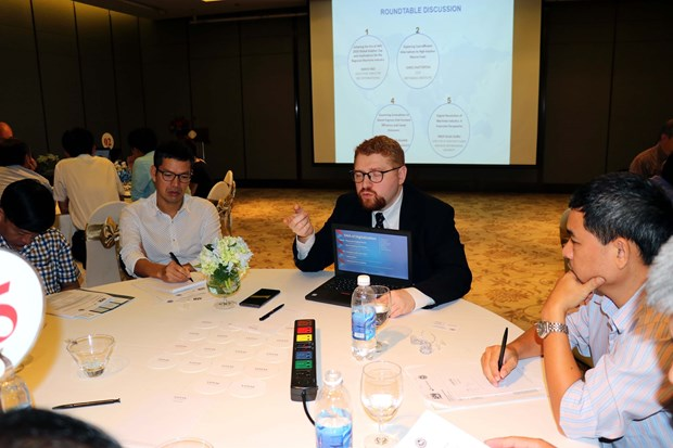 Workshop discusses impacts of global changes on Vietnam marine transport hinh anh 1
