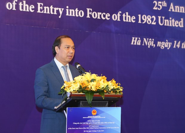 Vietnam marks 25th anniversary of UNCLOS's entry into force hinh anh 1