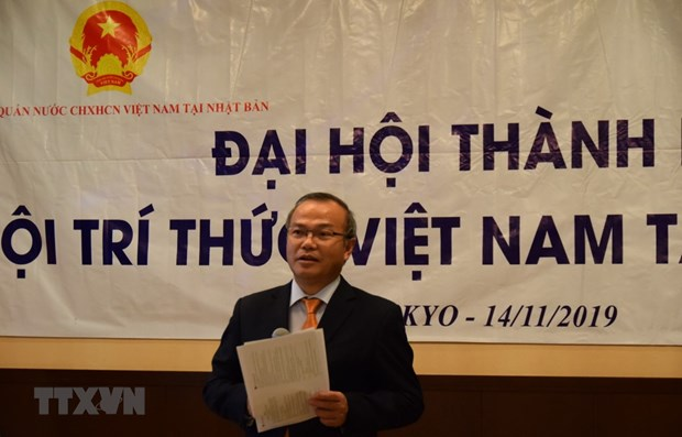 Association of Vietnamese Intellectuals in Japan formed hinh anh 1