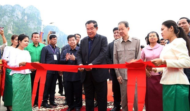 Cambodia inaugurates fifth cement plant hinh anh 1
