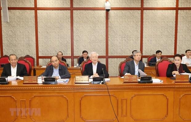 Politburo examine development of Hue, Buon Ma Thuot cities hinh anh 1
