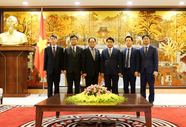 Hanoi's leader promises to facilitate Korean investment projects hinh anh 1