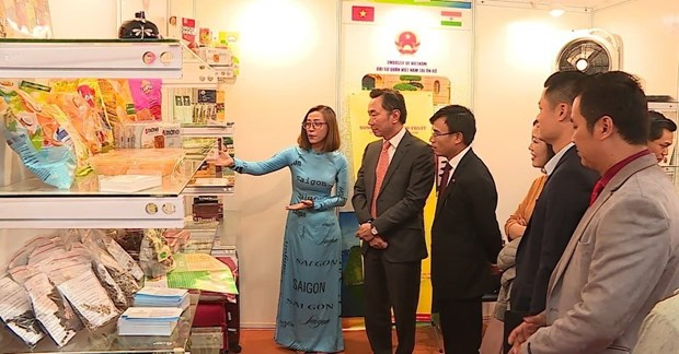 Almost 20 Vietnamese firms take part in India Int'l Trade Fair hinh anh 1