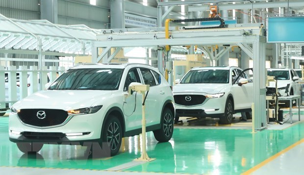 MoF to give tax incentives to automobile manufacturers, electric car imports hinh anh 1