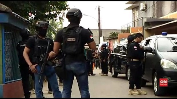 Indonesia police crack down on terrorism hinh anh 1
