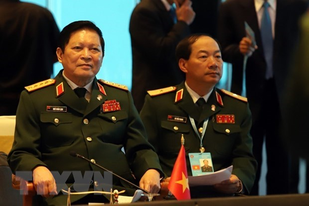 ASEAN Defence Ministers' Meeting Retreat opens in Thailand hinh anh 1