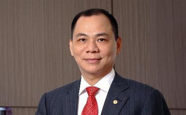 Vingroup Chairman listed among world's 50 theme park influencers hinh anh 1