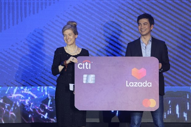 Citi, Lazada unveil credit card partnership in Vietnam hinh anh 1