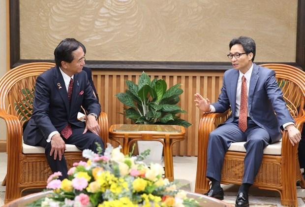 Deputy PM receives Japan's Kanagawa Governor hinh anh 1