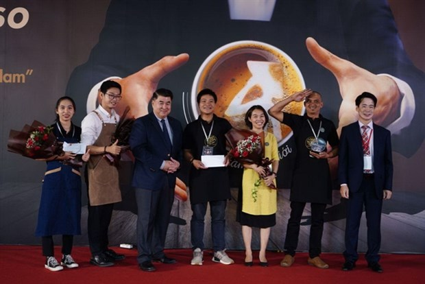 First Vietpresso coffee contest held in HCM City hinh anh 1