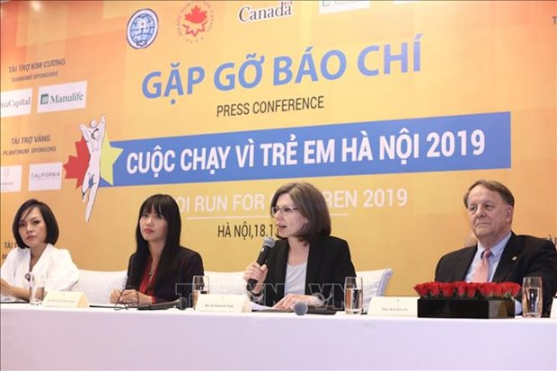 Hanoi Run for Children 2019 to kick off in December hinh anh 1