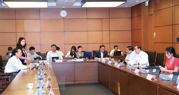 NA discuss two draft laws, adopt minority ethnic development plan hinh anh 1