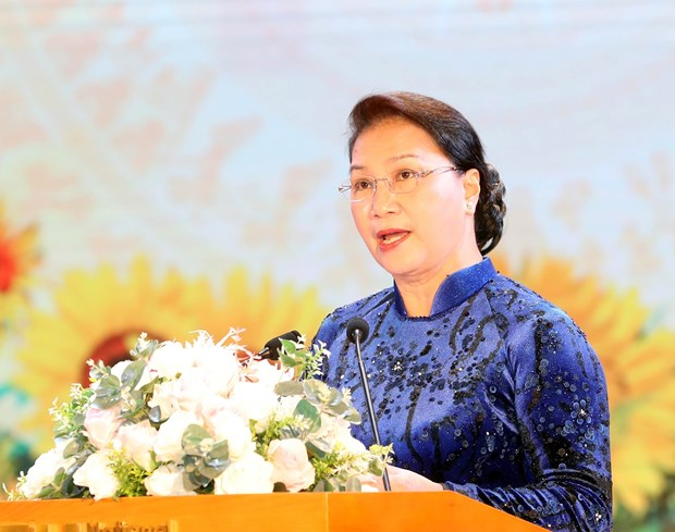 Party, State always pay special attention to education: NA Chairwoman hinh anh 1