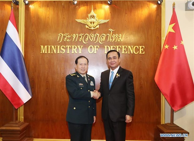 Thailand, China agree to enhance military cooperation hinh anh 1