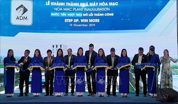 US group inaugurates animal feed plant in Ha Nam province hinh anh 1