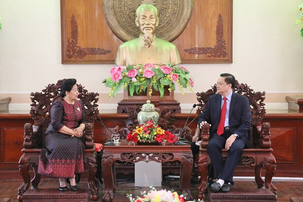 Can Tho strengthens ties with Cambodian localities hinh anh 1