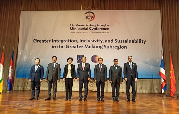 Vietnam attends 23rd GMS ministerial conference in Phnom Penh hinh anh 1