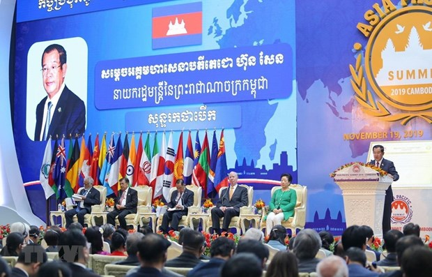 Vietnam attends Asia-Pacific Summit 2019 in Cambodia hinh anh 1