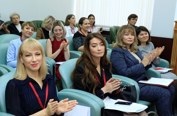 Vietnamese, Russian women urged to contribute more to socio-political activities hinh anh 1