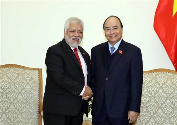Prime Minister receives outgoing Venezuelan ambassador hinh anh 1
