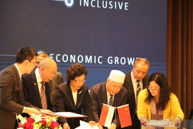 China inks import contracts worth 2.5 billion USD with Indonesia hinh anh 1