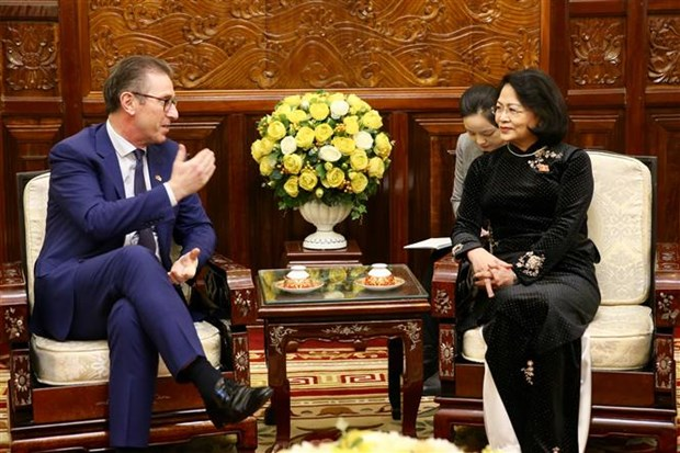 Ireland's renewable energy developer pledges support for Vietnam hinh anh 1