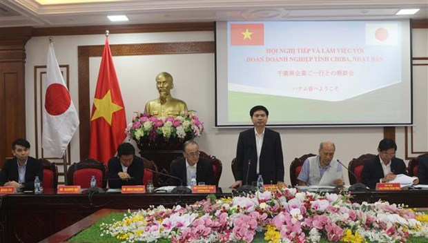 Japanese firms explore Ha Nam's investment climate hinh anh 1
