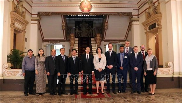HCM City hopes to intensify cooperation with Australia: official hinh anh 1