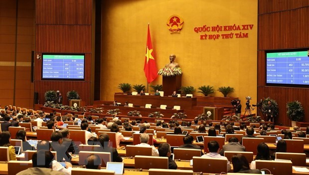 NA approves draft revised Labour Code on 23rd working day hinh anh 1