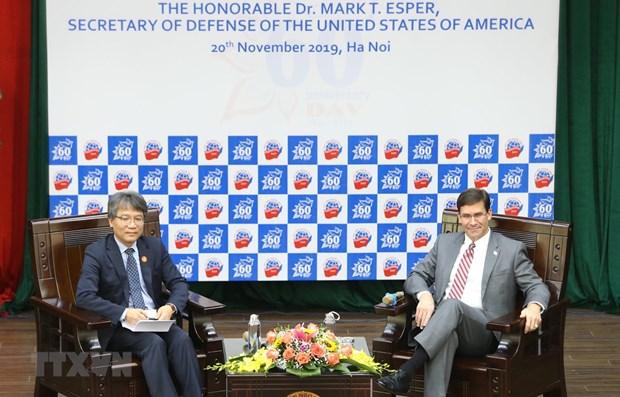 US Secretary of Defense gives speech at Diplomatic Academy hinh anh 1