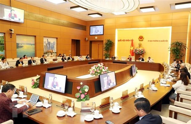 NA Standing Committee convene 39th session hinh anh 1