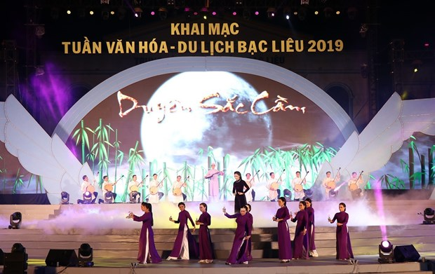 Culture-tourism week invites visitors to Bac Lieu province hinh anh 1