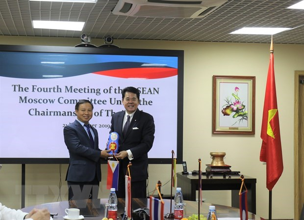 Vietnam takes over Chairmanship of ASEAN Moscow Committee hinh anh 1