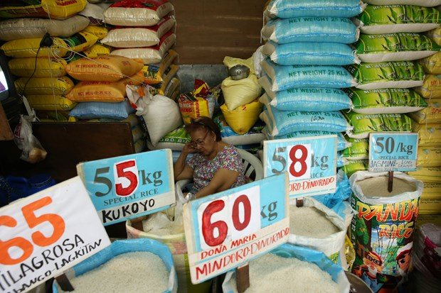 Philippine President orders suspension of rice imports hinh anh 1