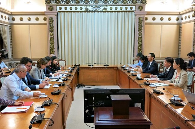 HCM City welcomes Austrian investors in major development projects hinh anh 1