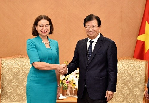 Deputy PM hopes for stronger Vietnam-Australia economic links hinh anh 1