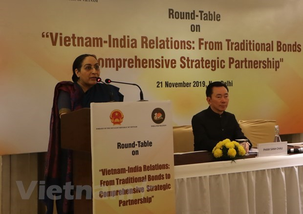 India stresses significance of navigation routes through East Sea hinh anh 1