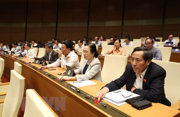 Legislators to discuss draft laws, personnel work on November 22 hinh anh 1