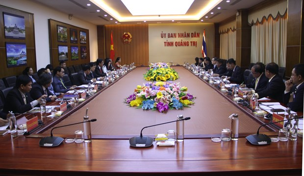 Vietnamese, Thai provinces seek to solidify cooperation hinh anh 1