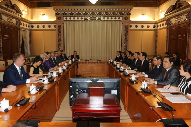 HCM City, Germany's Saxony-Anhalt state look to expand cooperation hinh anh 1