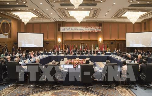Vietnam attends G20 Foreign Ministers' Meeting in Japan hinh anh 1