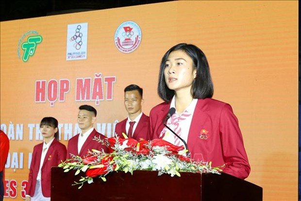 Seeing-off ceremony for southern athletes to SEA Games 30 hinh anh 1